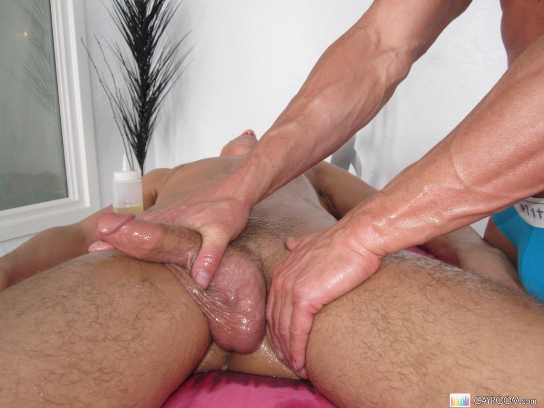 мужчине смотреть массаж члена делать